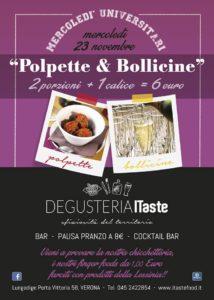 POLPETTE E BOLLICINE!!